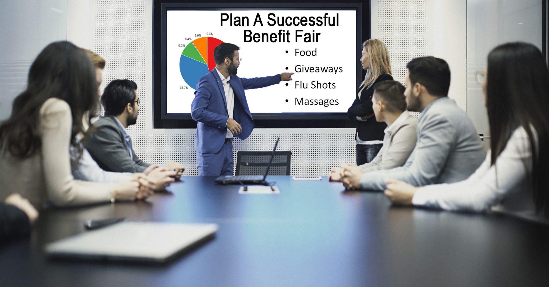 Planning an employee benefit fair