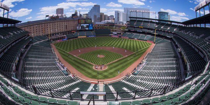 Baseball arena and Seats
